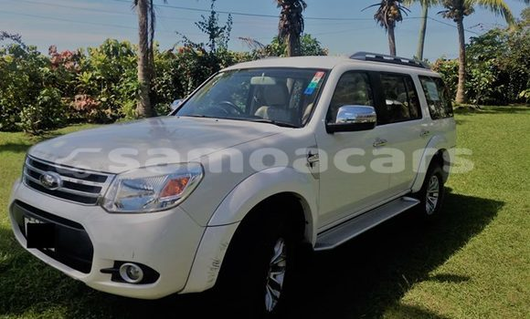 Buy Used Ford Everest White Car in Apia in Tuamasaga