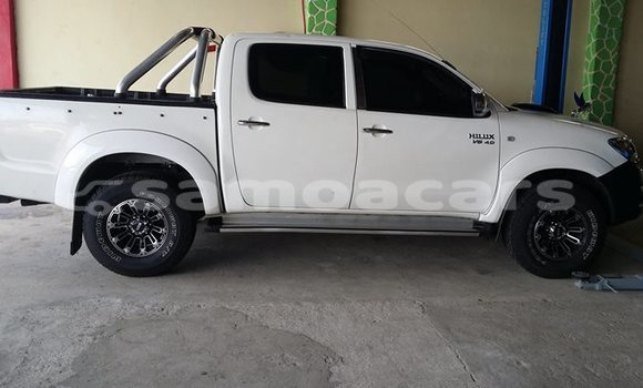 Buy Used Toyota Hilux White Car in Salelologa in Fa'asaleleaga