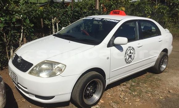 Buy Used Toyota Corolla White Car in Apia in Tuamasaga