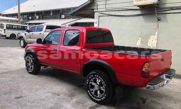Buy Used Toyota Tacoma Red Car in Apia in Tuamasaga