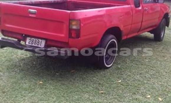 Buy Used Toyota Pickup Red Car in Apia in Tuamasaga