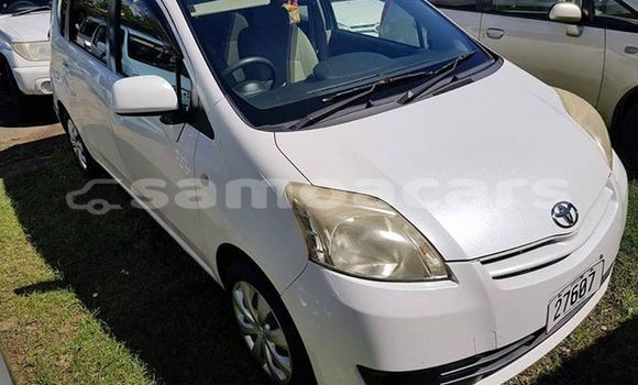 Buy Used Toyota Passo White Car in Apia in Tuamasaga