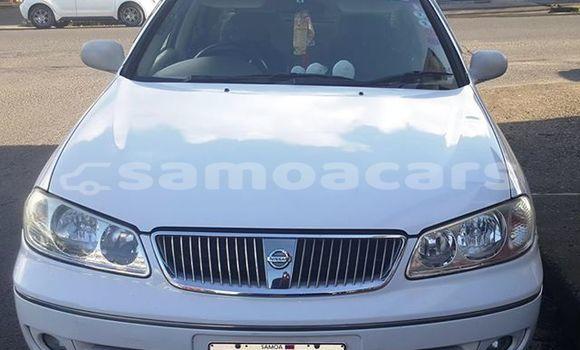 Buy Used Nissan Bluebird White Car in Apia in Tuamasaga