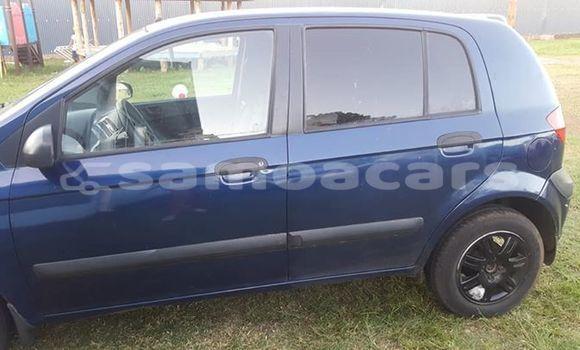 Buy Used Hyundai Getz Blue Car in Apia in Tuamasaga
