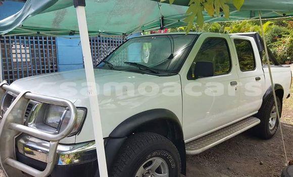 Buy Used Nissan Pickup White Car in Apia in Tuamasaga