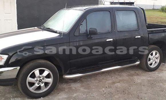 Buy Used Toyota Hilux Black Car in Apia in Tuamasaga