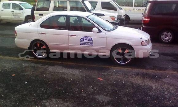 Buy Used Nissan Sunny White Car in Apia in Tuamasaga