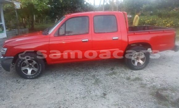 Buy Used Toyota Hilux Red Car in Apia in Tuamasaga