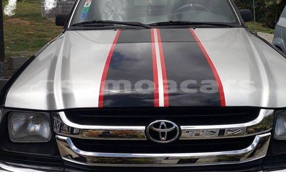 Buy Used Toyota Hilux Black Car in Vaitele in Tuamasaga