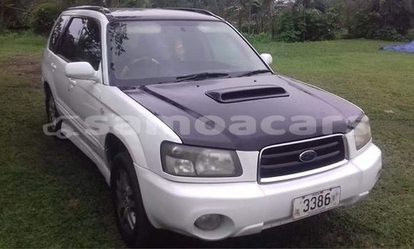 Buy Used Subaru Forester White Car in Apia in Tuamasaga
