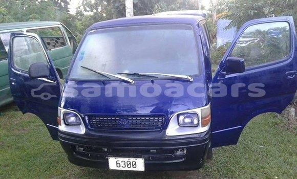 Buy Used Toyota Hiace Blue Car in Apia in Tuamasaga