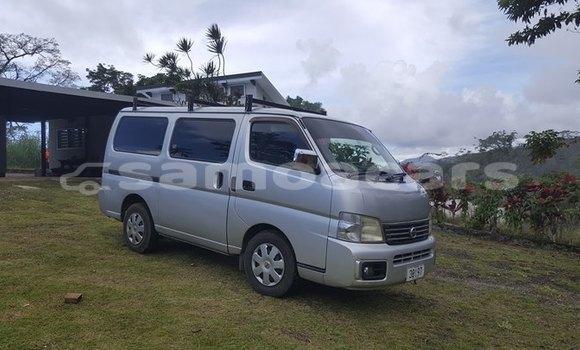 Buy Used Nissan Caravan Silver Car in Vaitele in Tuamasaga