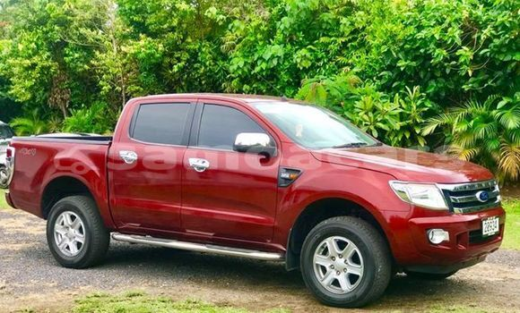 Buy Imported Ford Ranger Red Car in Apia in Tuamasaga