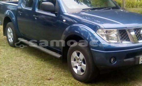 Buy Imported Nissan Navara Blue Car in Apia in Tuamasaga