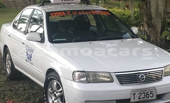 Buy Imported Nissan Sunny White Car in Apia in Tuamasaga