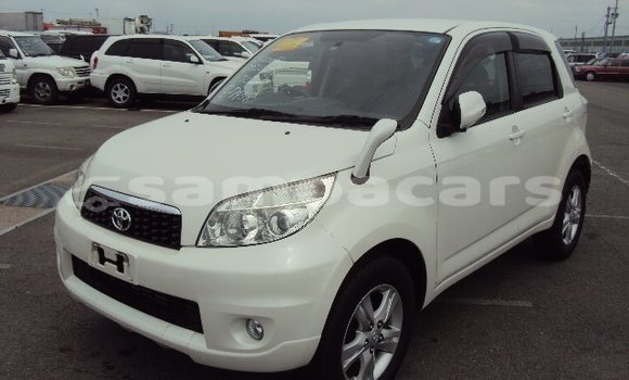 Buy Imported Toyota Rush White Car in Apia in Tuamasaga