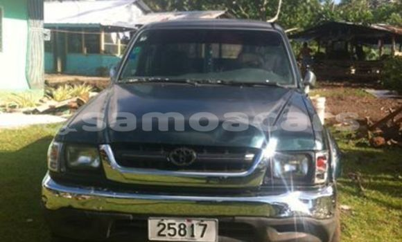 Buy Imported Toyota Hilux Green Car in Apia in Tuamasaga