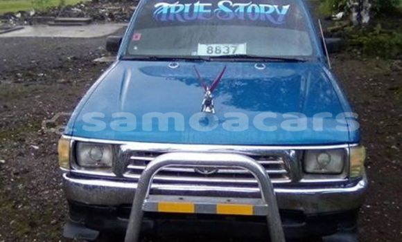 Buy Imported Toyota Hilux Blue Car in Vaitele in Tuamasaga