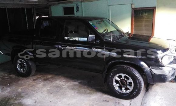 Buy Imported Nissan Frontier Black Car in Apia in Tuamasaga