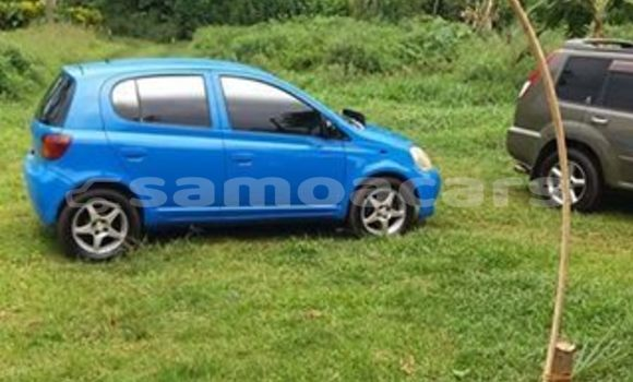 Buy Imported Toyota Vitz Blue Car in Vaitele in Tuamasaga