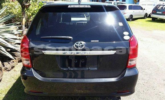 Buy Imported Toyota Wish Black Car in Apia in Tuamasaga