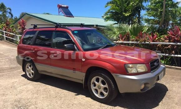Buy Used Subaru Forester Red Car in Apia in Tuamasaga