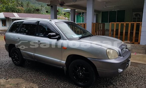Buy Used Hyundai Santa Fe Silver Car in Apia in Tuamasaga