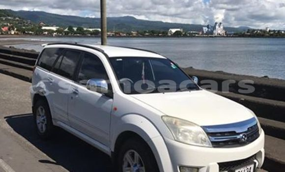Buy Used Great Wall Hover White Car in Apia in Tuamasaga