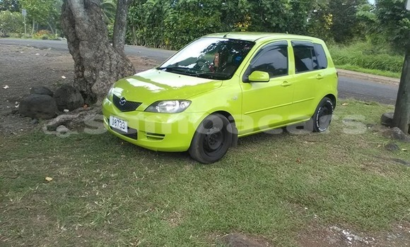 Buy Used Mazda Demio Green Car in Apia in Tuamasaga