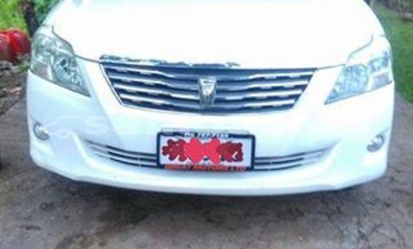 Buy Used Toyota Premio White Car in Apia in Tuamasaga
