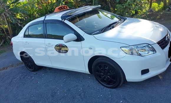 Buy Used Toyota Axio White Car in Apia in Tuamasaga