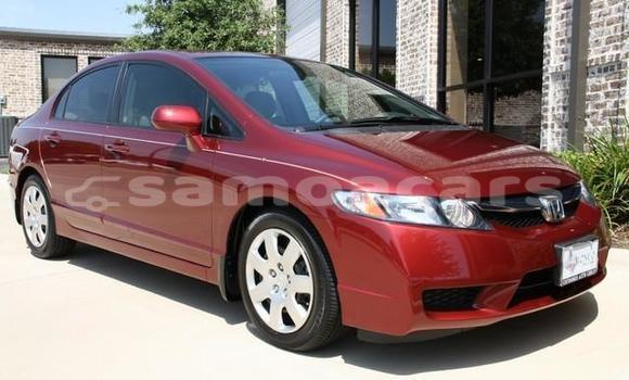 Buy Used Honda Civic Red Car in A'opo in Gagaifomauga
