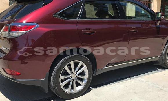Buy New Lexus RX 350 Red Car in Taga in Palauli