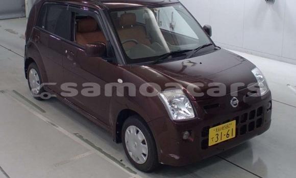 Buy Used Nissan Pino Red Car in Apia in Tuamasaga