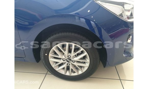 Buy Import Kia Rio Blue Car in Import - Dubai in A'ana