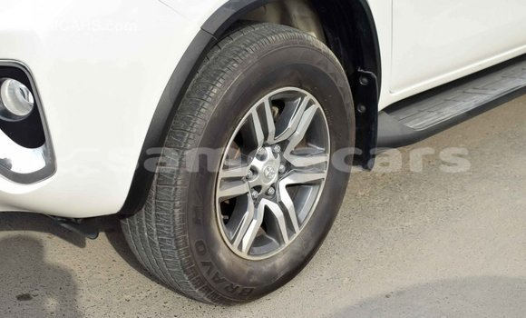Buy Import Toyota Fortuner White Car in Import - Dubai in A'ana