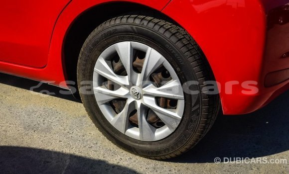 Buy Import Toyota Yaris Red Car in Import - Dubai in A'ana