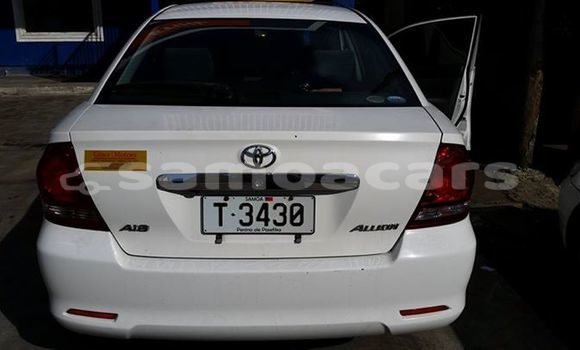 Buy Used Toyota Allion Other Car in Apia in Tuamasaga