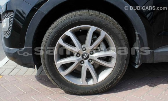 Buy Import Hyundai Santa Fe Black Car in Import - Dubai in A'ana