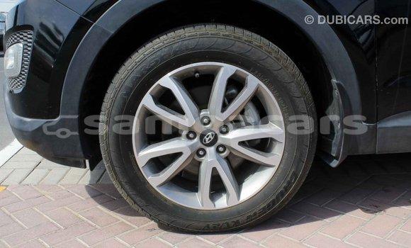 Buy Import Hyundai Santa Fe Black Car in Import - Dubai in A'ana